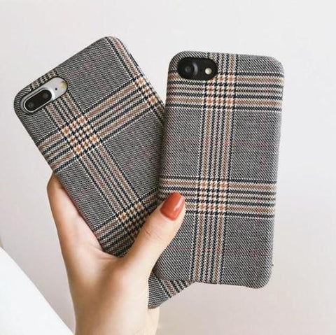 Grey Grid Case