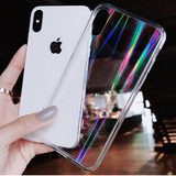Clear Holo Laser Case