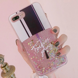 Nail Polish Glitter iPhone Case