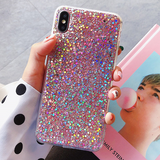 Glitter Sequin iPhone Case (Pink)