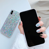 Glitter Sequin iPhone Case (Silver)