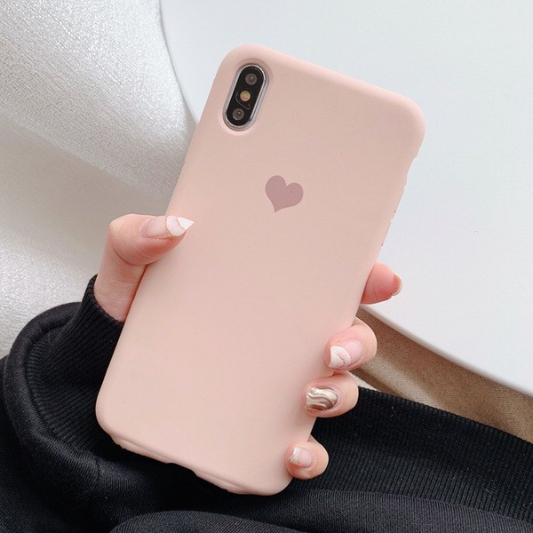Heart Logo iPhone Case (Pink)