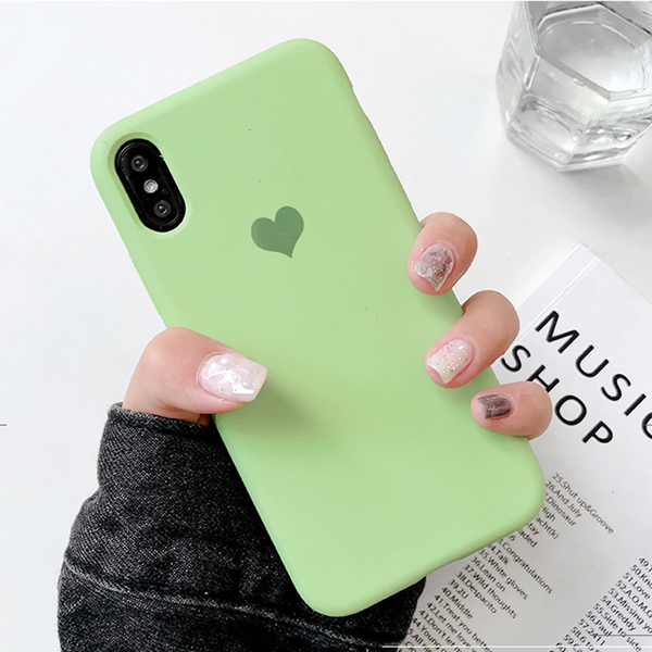 Heart Logo Case (Mint)