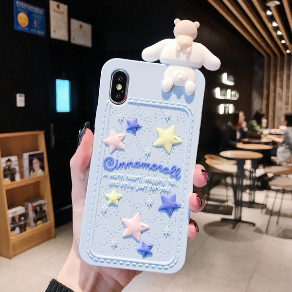 Cinnamoroll Blue Case