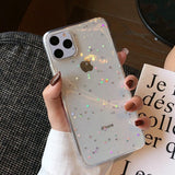 Holo Star iPhone Case (Clear)