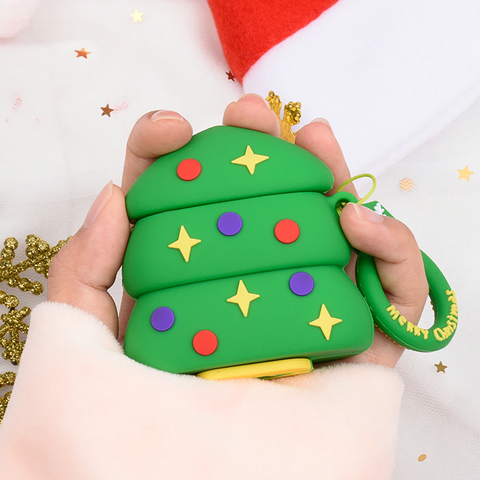 Christmas Tree Airpods Case