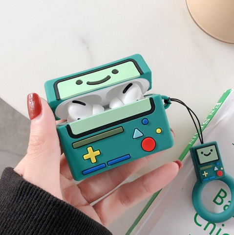 Smiley Game Boy Airpods Case