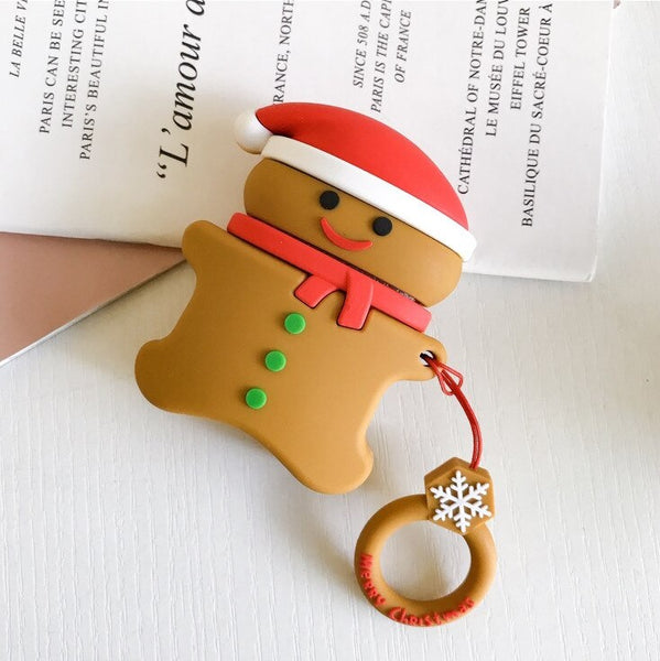 Gingerbread Man Airpods Case