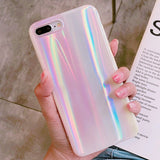 Holographic Aurora iPhone Case