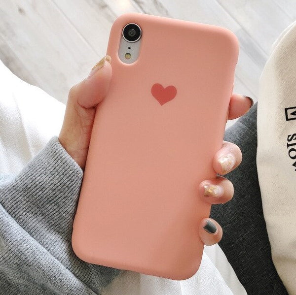 Heart Logo Case (Orange)