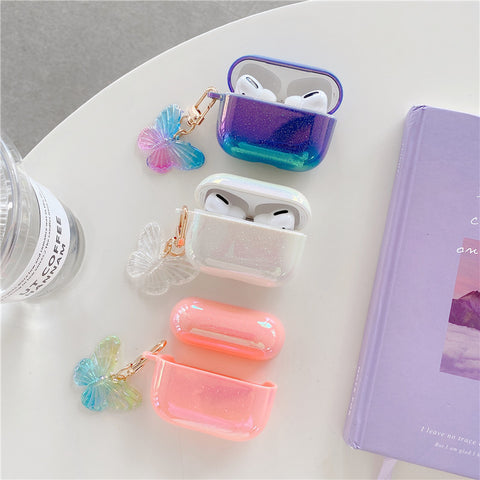 Butterfly Holo Airpods Case