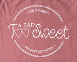 ATTS Logo Shirt - A Tad Too Sweet