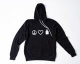 Peace. Love. Insulin. Pullover Hoodie - A Tad Too Sweet