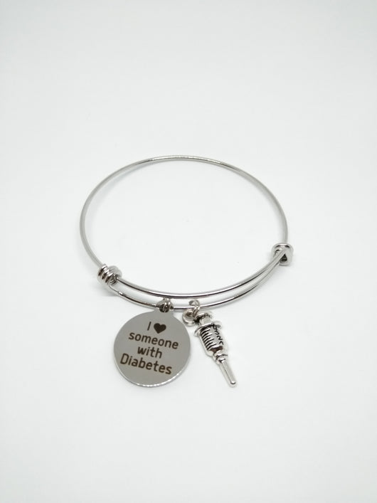 'I Love Someone With...' Bracelet - A Tad Too Sweet