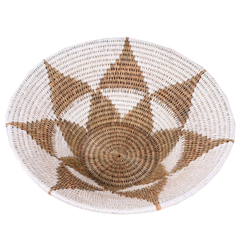Lavumisa Basket - White Collection