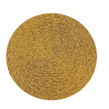Solid Colour Placemat - Golden Husks