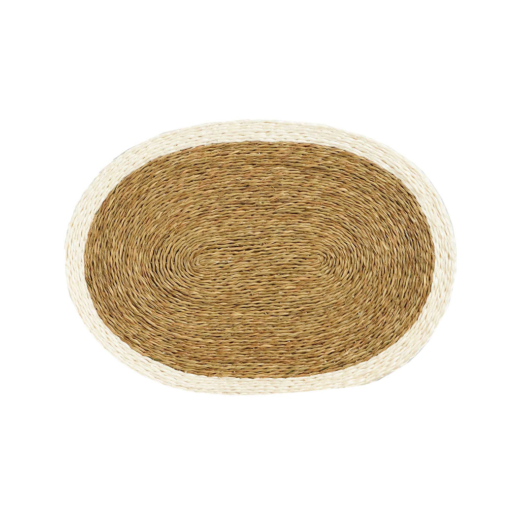 Trim Colour Placemats - Oval Shaped