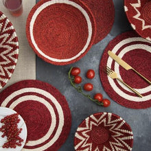 Design Placemats - Festive Red Collection