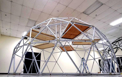Second Floor in a Geodesic Dome?