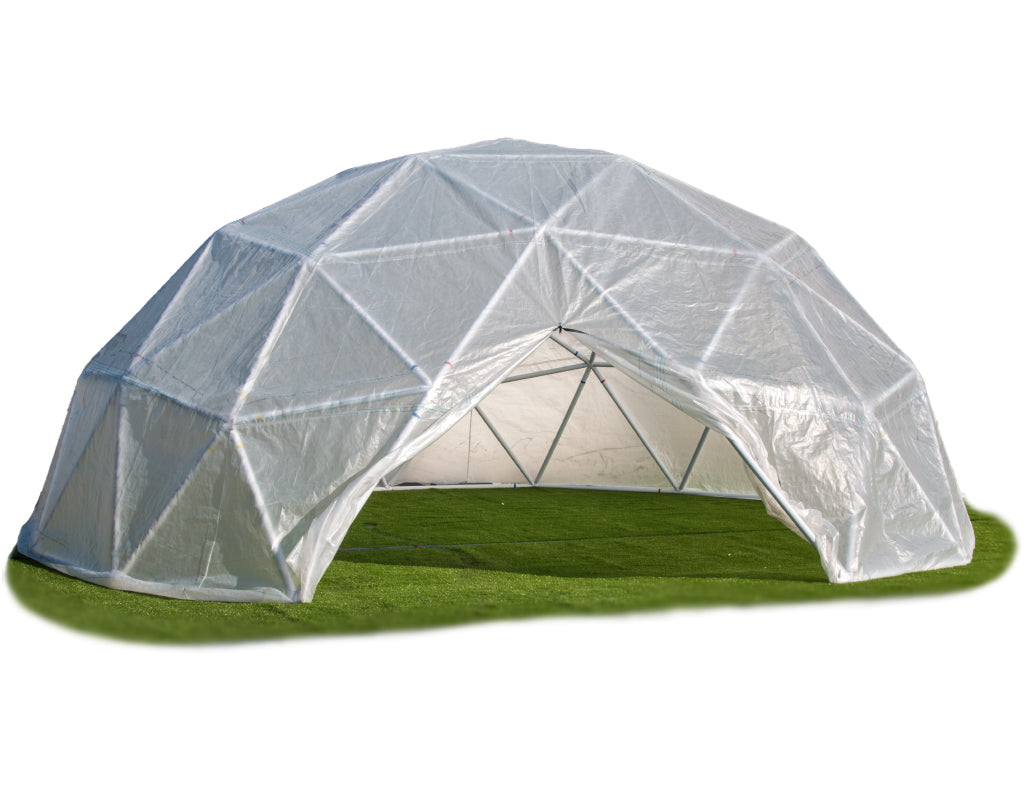 Geodesic Dome Kits and Geodesic Dome Connectors