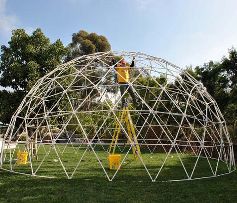 Geodesic Greenhouse Dome