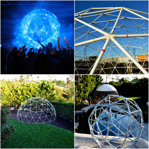 PVC Geodesic Dome Kits