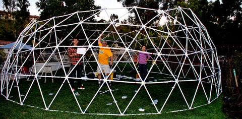 Why you should build a geodesic dome