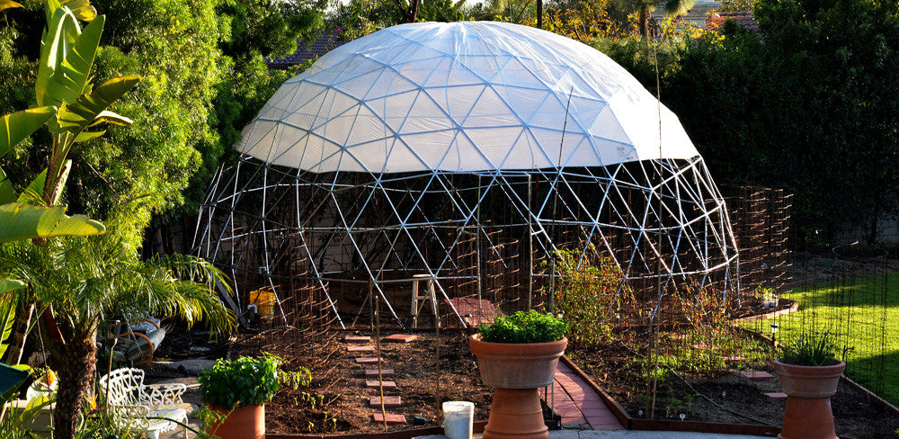 How to build a geodesic dome using pvc hubs sonostarhub - Building a new home ...