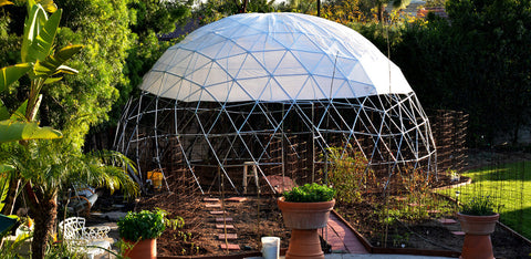 The finished Geodesic Dome project