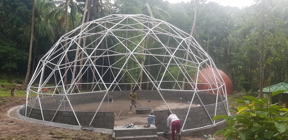 Sonostar PVC geodesic dome structure