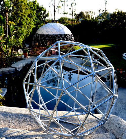 Geodesic PVC Sphere