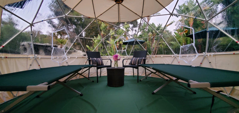 Mini Glamping Dome Cover & Floor