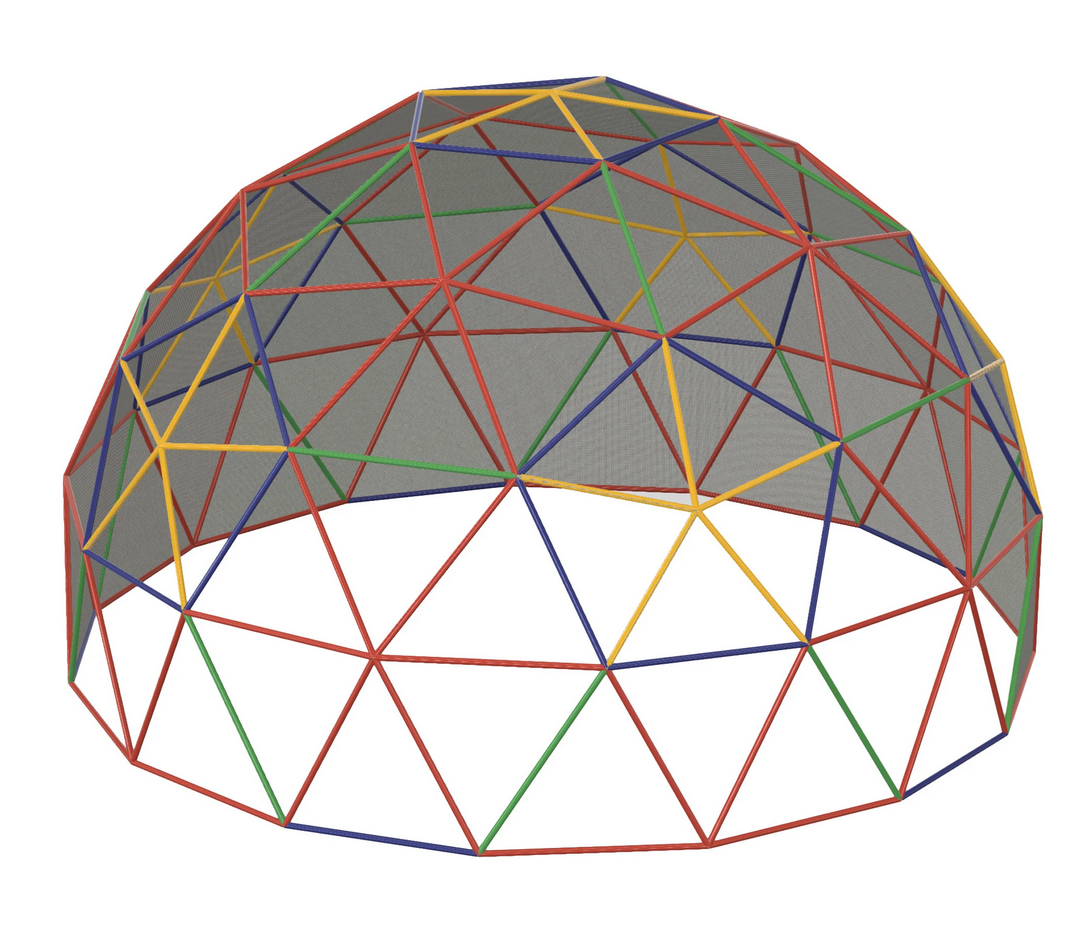 "18' 3V 5/9 1"" Mega Dome With Cover"