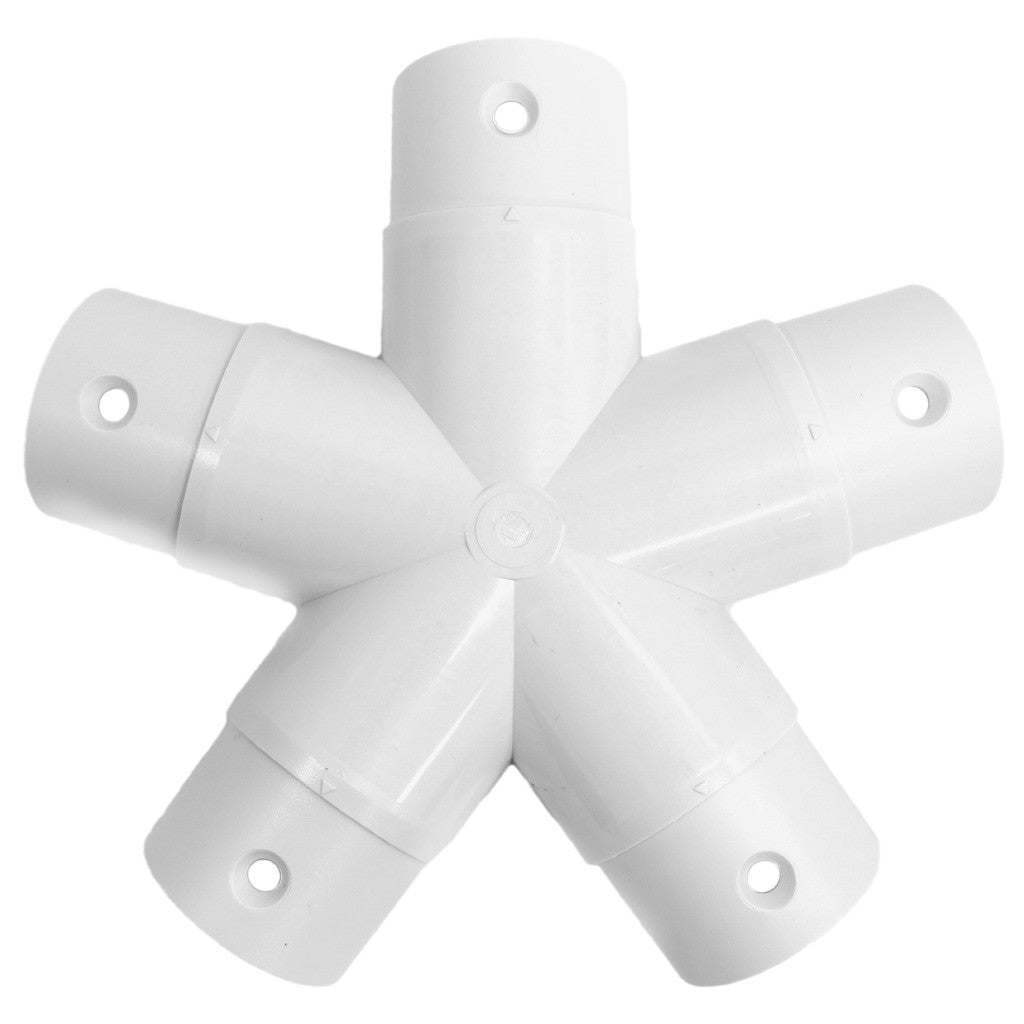 5-Star Mega Hub Dome Connector
