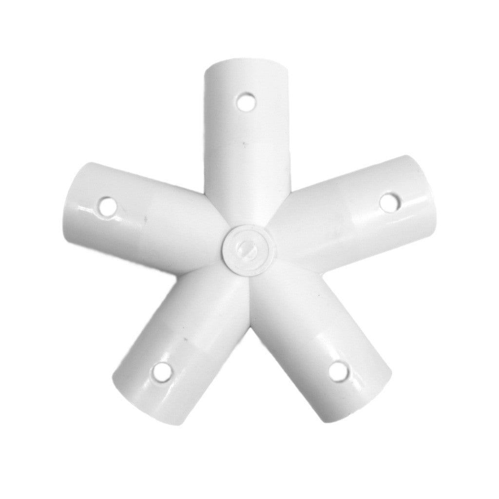 5-Star Standard Hub Dome Connector