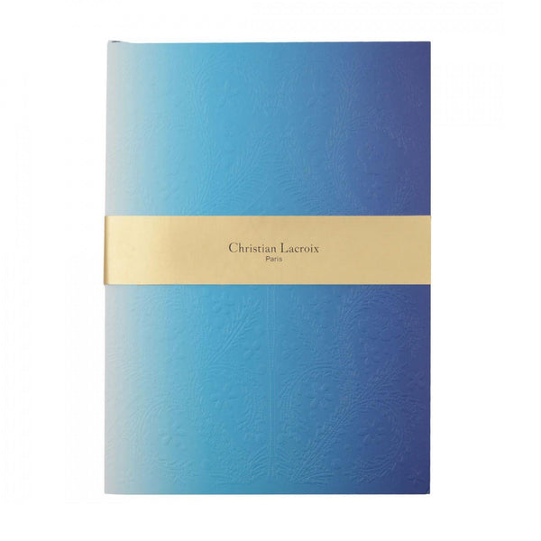 Christian Lacroix A6 Neon Blue Notebook