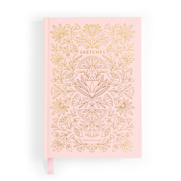 Fox and Fallow Rose Quartz Sketchbook