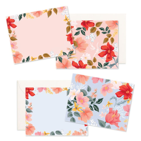 Fox and Fallow Willow Flat Notecard Set correspondence cards