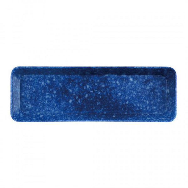 Hightide Marbled Pen Tray - Blue
