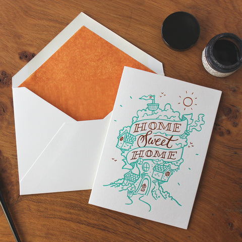 Meticulous Ink Home Sweet Home Card