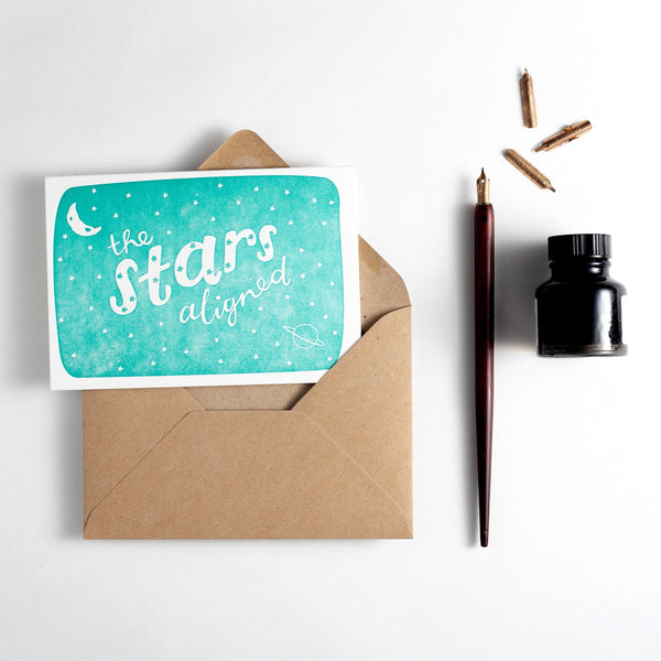 Hunter Paper Co The Stars Aligned Card