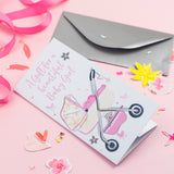 Katie Phythian A Gift for a Beautiful Baby Girl Money Wallet Card