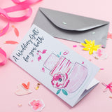 Katie Phythian Wedding Gift Money Wallet Card, Gift Wallet