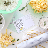 Lily and Val Butter Makes Everything Better Recipe Cards