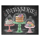 Lily and Val French Bakery Print