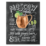 Lily and Val Moscow Mule Cocktail Recipe Print