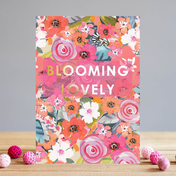 Louise Tiler Floral Blooming Lovely Card