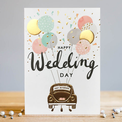 Louise Tiler Wedding Car Card