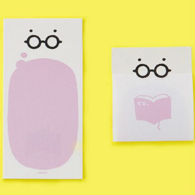 Midori Glasses Secret Message Memo Paper