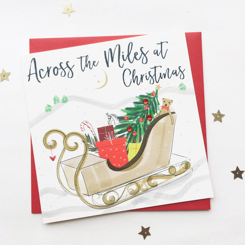 Katie Phythian Across the Miles at Christmas Card
